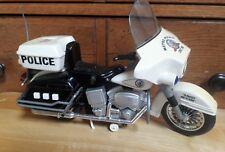 Metro Police Toy HD Harley Davidson Motorcycle  Unit 208