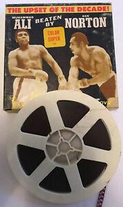 "Super 8 Cine Boxing Film ""Upset of the Decade"" Muhammed Ali vs Ken Norton 1973"