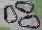 Black Diamond Rocklock Screwgate Carabiner 3PAK Climbing Rock Trad Biner blu16