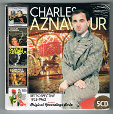 CHARLES AZNAVOUR - RETROSPECTIVE 1952-1962 - 5 CD SET - NEUF NEW NEU