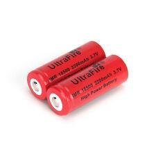 Ultrafire 18500 Battery 2200mAh 3.7v Li-ion Rechargeable For Flashlight Torch