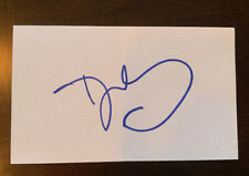 Dawn Staley Autograph Signed 3x5 Index Card