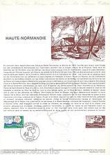 DOC. PHILATÉLIQUE - HAUTE NORMANDIE - 1978 YT 1992