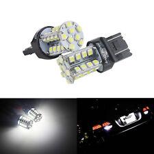 2x Ampoule 40 LED W21/5W 580 7443 W3x16q Veilleuses position Jour diurne Blanc