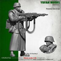 1/35 WWII Prussian God of War Soldier Resin Model Kits Unpainted YuFan