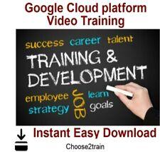 Learn Google Cloud platform Video Training Tutorial