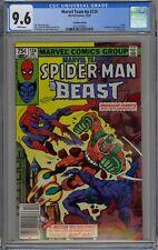 Marvel Team-Up #124 CGC 9.6 NM+ Wp Spider-Man & Beast Canadian Price Variant