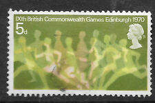 GB: 1970 British Commonwealth Games 5d SG832 - shows runners