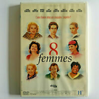 8 Femmes - DVD Zone 2 - Catherine Deneuve, Isabelle Huppert, Emmanuelle Béart ..