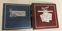 Sports Card Collection Books. Vintage. 2 Total. Full Of Sheets