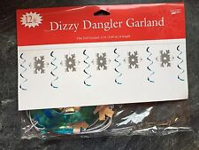 Snowflakes & Swirls Garland Party Decoration Christmas Party Banner Bunting