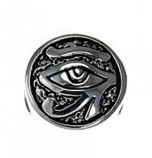 LOOK Silver Egyptian Eye of Horus BEAD fits jewelry bracelet