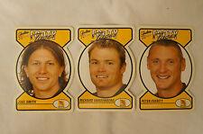 HAWTHORN HAWKS - Footy Faces Football Cards x 3 - Vandenberg, Everitt, Smith