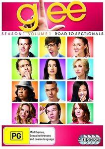 Glee - Road To Sectionals : Season 1 : Vol 1 (DVD, 2010, 4-Disc Set) - Region 4