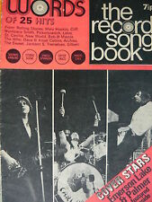 WORDS RECORD SONGBOOK MAGAZINE 1/8/71 - EMERSON LAKE & PALMER