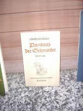 Pankraz der Schmoller, eine Erzählung von Gottfried Kel