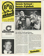 BL 87/88 Borussia Dortmund - Borussia Mönchengladbach