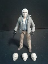 "Hannibal Smith A-Team Custom Action Figure Head Casts 1:18th or 3-3/4"" scale"