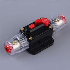 100 Amp In-Line Circuit Breaker Stereo/Audio/Car/RV 100A/100AMP Fuse 12V/24V/32V