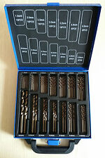 99 Piece Cobalt HSS-Co Drill Bit Set for Stainless Steel Inox 5% M35 Metal Sheet