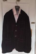 Tom Ford Suede Brown Blazer/Jacket IT 48, UK 38