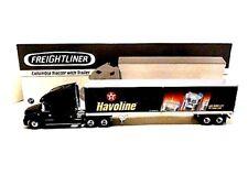 2002 First Gear  'Freightliner Columbia Tractor & Texaco / Havoline Box Trailer'
