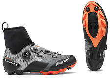 NorthWave Raptor GTX - MTB Winter Boots - Reflective / Orange