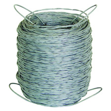 Barbless Wire Roll 1320 Ft 125 Gauge Utility Outdoor Garden Livestock Fencing
