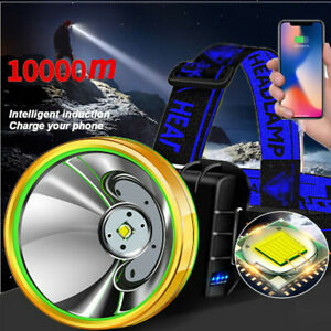 Super Bright T6 LED Headlamp Headlight Flashlight High Power Head Torch Camping