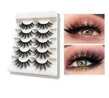 SACE LADY 5Pairs 3D Eyelashes Natural Thick Long Eye lashes False Lashes Makeup