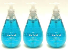 3 METHOD WATERFALL NATURALLY DERIVED HAND WASH LIQUID SOAP 12 OZ NEW