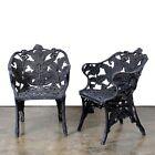 Cast Iron Fern Pattern Chairs, 19th Century