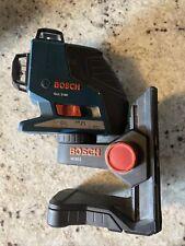 Bosch Gll3 80 Red Self Leveling 3 Plane Laser Level Wm1 Bracket