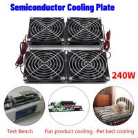 Semiconductor Refrigeration Peltier Cooler DIY Air Conditioning Mini Fridge 240W
