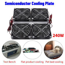 Semiconductor Refrigeration Peltier Cooler DIY Air Conditioning Mini Fridge 240W