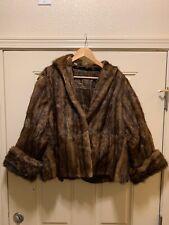 Vtg Mink Jacket by Spokane Fur Co. All Mink!