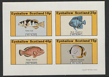 GB Locals - Eynhallow (1114) 1981 FISH  imperf sheetlet unmounted mint