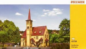 """Vollmer 43769 ( 3769 ) Spur H0 - Kirche """" Ditzingen """" NEU und OVP"""