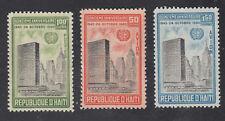 Haiti #469 C168-69 MNH PRINTED on GUM 1960 UN Set.