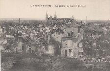 CPA GUERRE 14-18 WW1 REIMS vue générale quartier st rémi