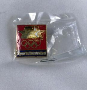 1984 84 LA Olympics Pin Sports Illustrated Lapel Pin