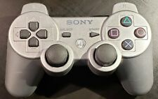 Sony DualShock 3 PS3 PlayStation 3 Gamepad Controller Silver, CLEANED & TESTED