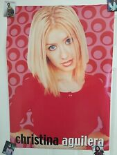 Rare Oop Christina Aguilera Poster Great Condition