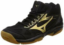 MIZUNO Women's Volleyball Shoes CYCLONE SPEED 2 MID Black V1GC1985 US9(25.5cm)