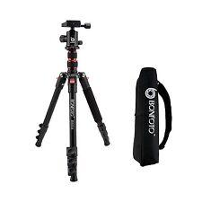 Universal Professional Aluminum Travel Tripod&Ball Head Portable For DSLR Camera