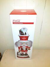 Coca-Cola® Polar Bear Hat Hollywood™ Nutcracker Advertising Collectible