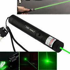 Pointeur laser 1mw Ultra Puissant Vert + batterie + chargeur 20 KM PROMO