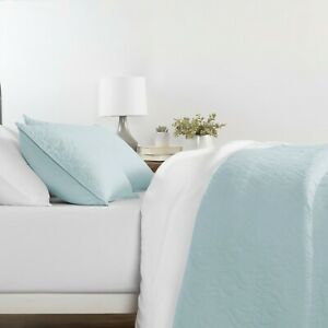 Premium - Ultra Soft -  Quilted 3 Piece Coverlet Set - The Home Collection