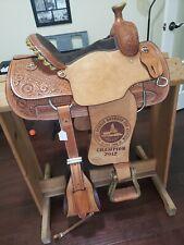 Anne Lockhart's Teskey's custom show saddle roundup Champion competition series
