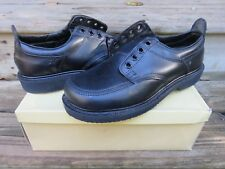 NEW Hanover Black Leather All Purpose Men's Casual Boots Size 9.5 D New in Box